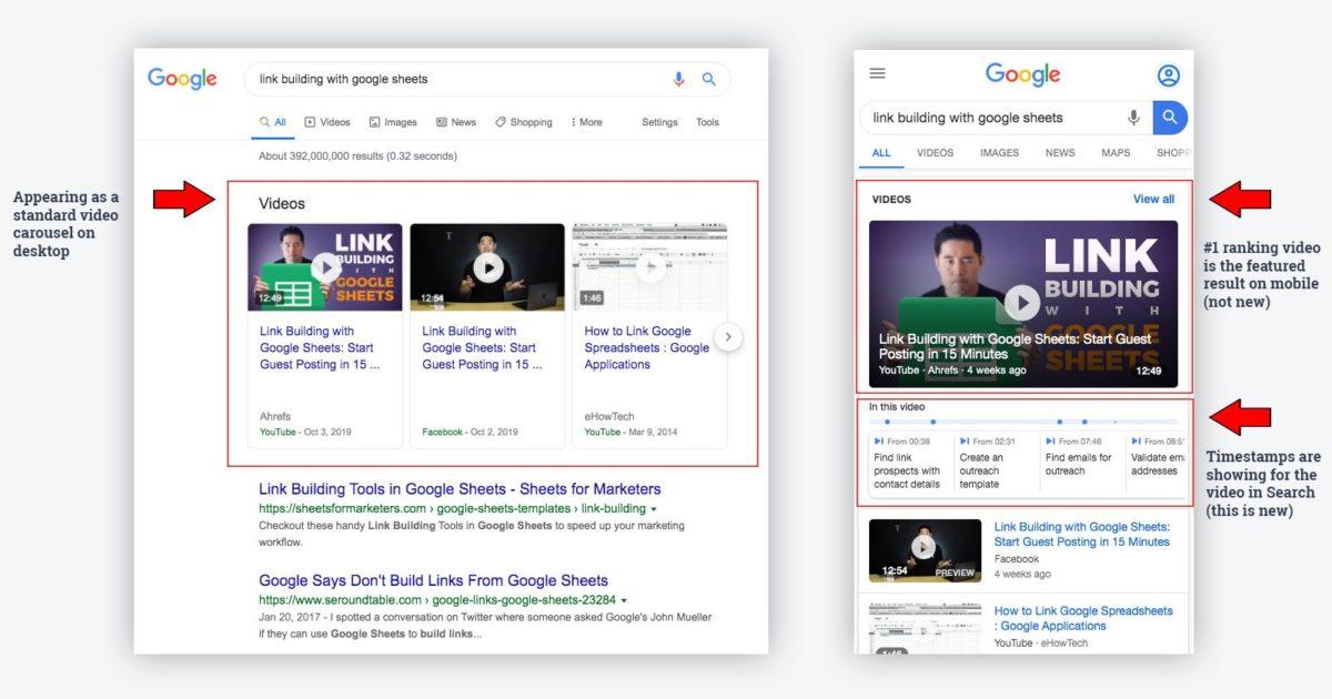 Come sfruttare al massimo i risultati del Timestamp Video nella Ricerca Google