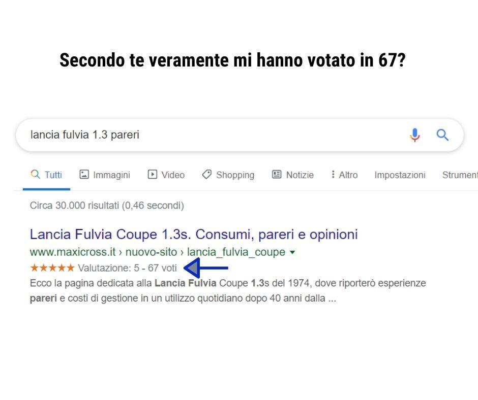 recensioni di google