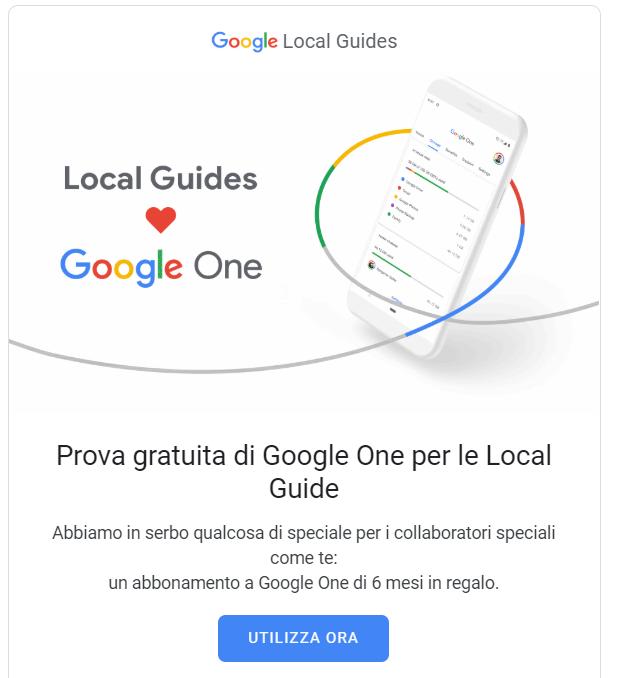 Google One ma che vantaggi da?