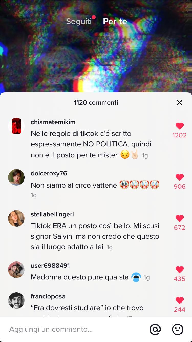 Salvini sbarca su Tik Tok. E i bambini lo deridono.