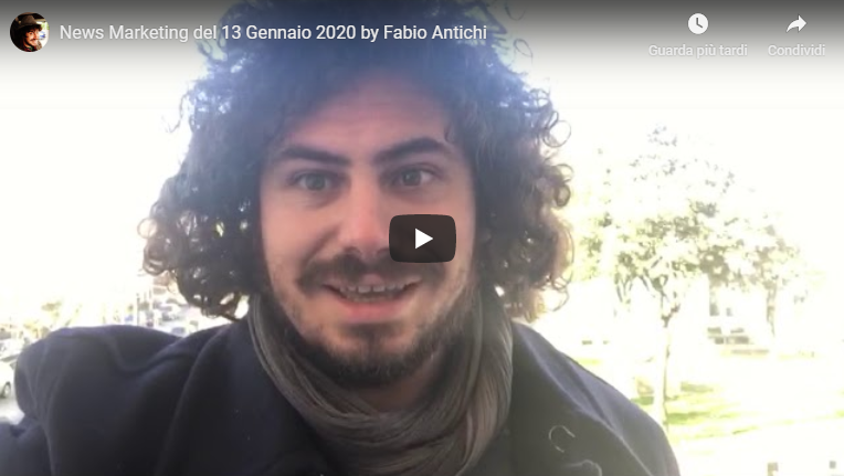 News Marketing del 13 Gennaio 2020 by Fabio Antichi